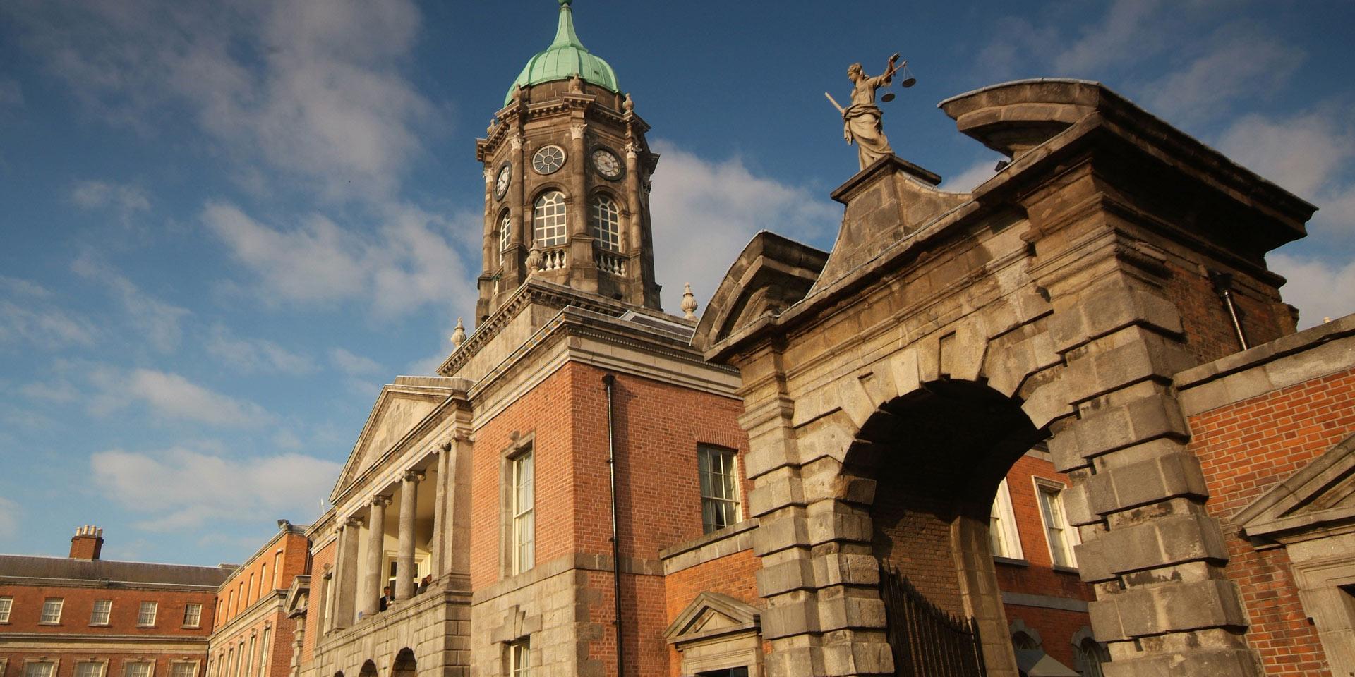Dublin castle front